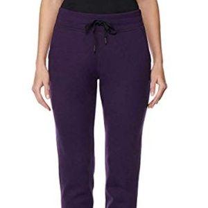32 Degrees Ladies' Tech Fleece Jogger Pant Purple